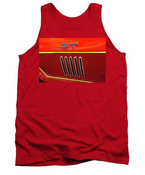 Orange Gt Tank Top