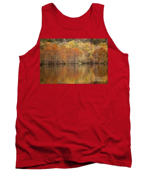 Tank Top featuring the photograph Orange Pool by Iris Greenwell