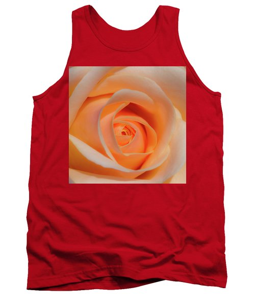 Orange Rose Tank Top
