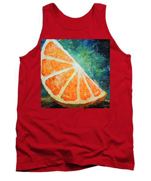 Orange Slice Tank Top