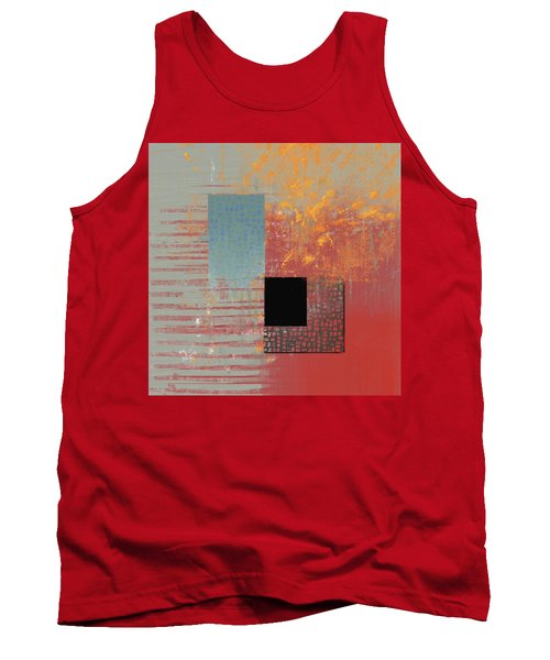 Orange Splash Tank Top