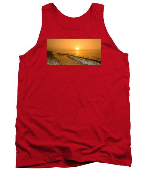 Orange Sunrise Tank Top