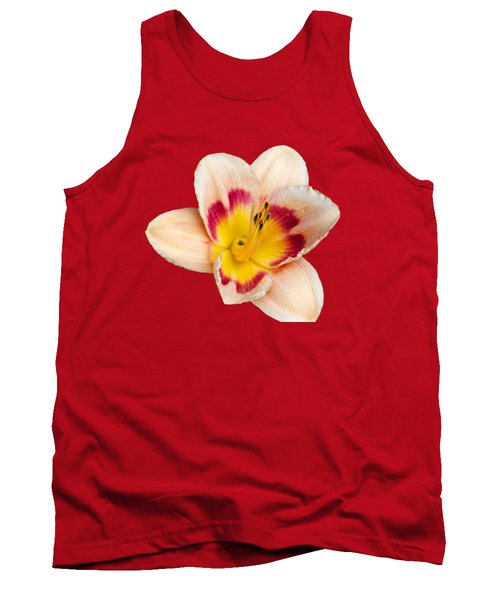 Orange Yellow Lilies Tank Top by Christina Rollo