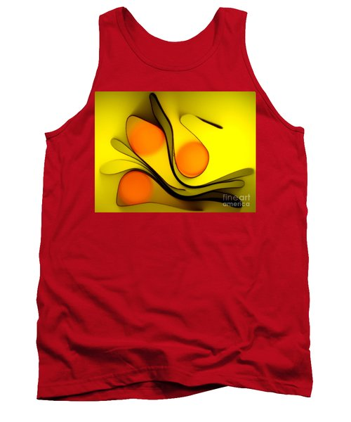 Tank Top featuring the photograph Oranges by Trena Mara
