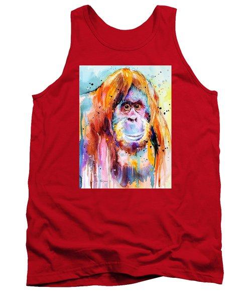 Orangutan  Tank Top by Slavi Aladjova