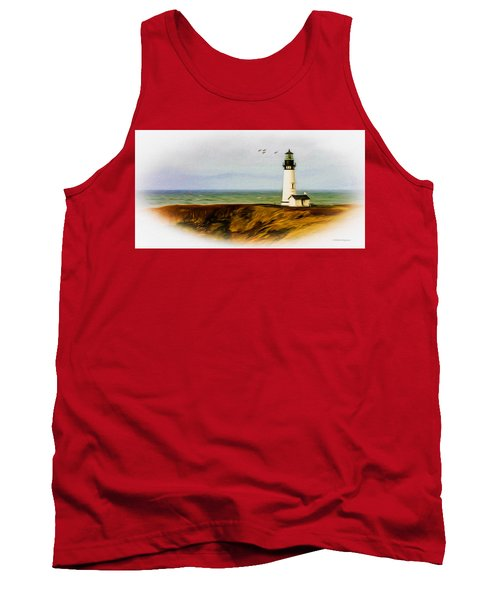 Oregon Lighthouse Tank Top