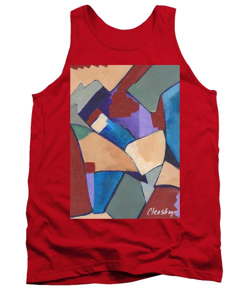 Organic Abstract Series II Tank Top by Patricia Cleasby