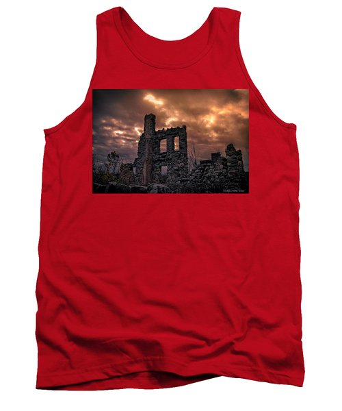 Tank Top featuring the photograph Osler Castle by Michaela Preston