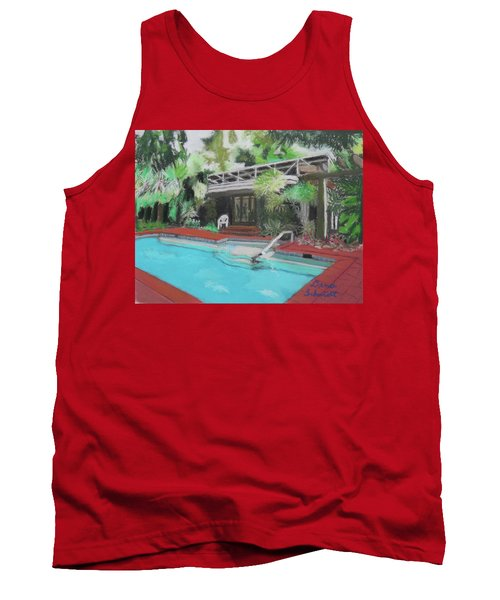 Our Back Yard In Orlando Tank Top
