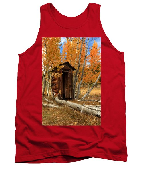 Outhouse In The Aspens Tank Top