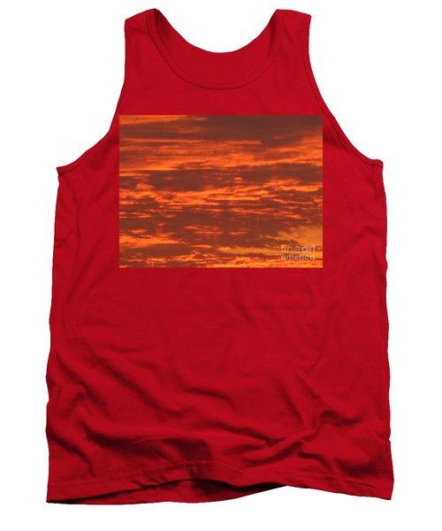 Outrageous Orange Sunrise Tank Top