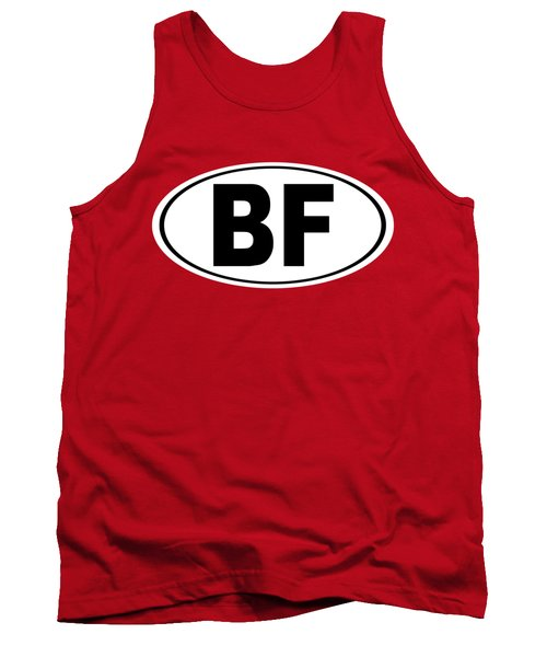 Tank Top featuring the photograph Oval Bf Beaver Falls Pennsylvania Home Pride by Keith Webber Jr