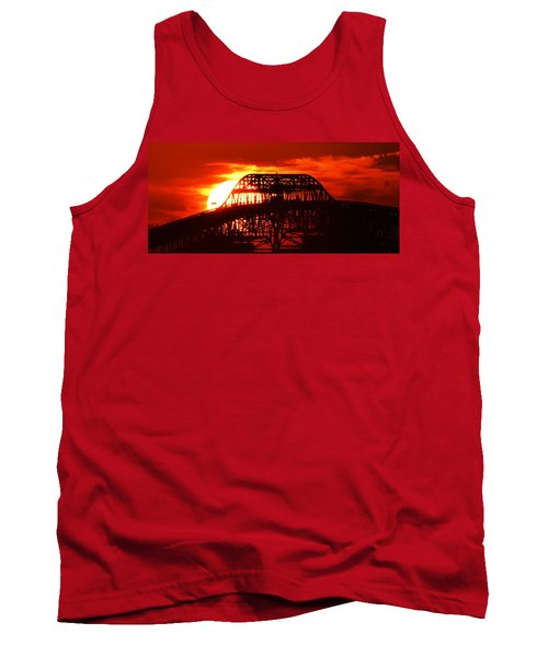Over The Hump Tank Top by John Glass