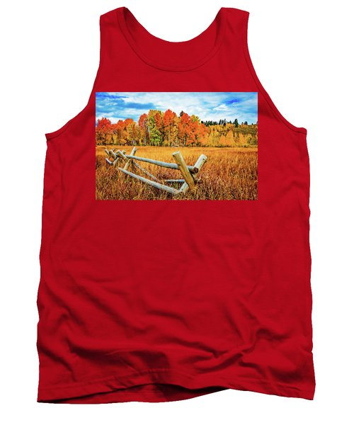 Oxbow Bend Fall Color Tank Top