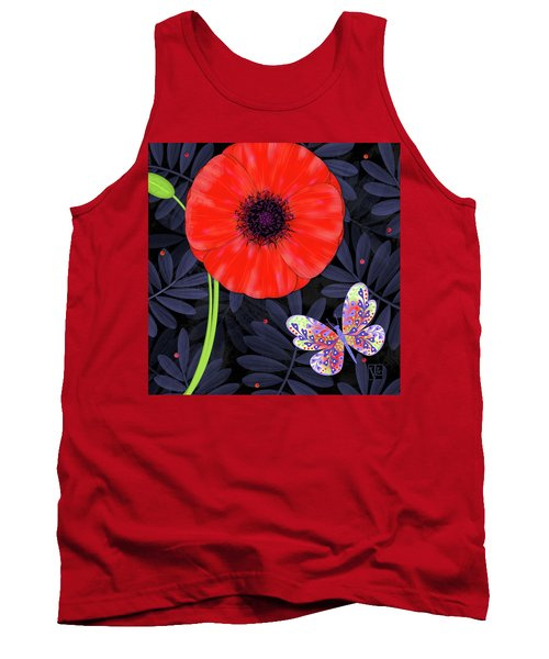 P Is For Pretty Poppy Tank Top