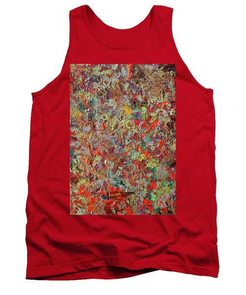 Paint Number 33 Tank Top by James W Johnson