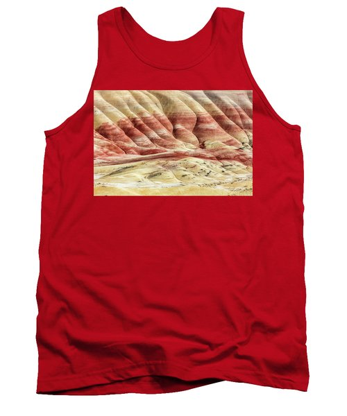 Tank Top featuring the photograph Painted Hills Landscape by Pierre Leclerc Photography