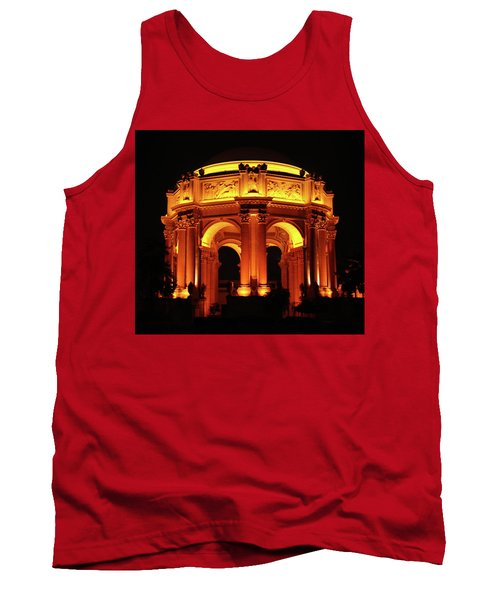 Palace Of Fine Arts - Dome At Night Tank Top
