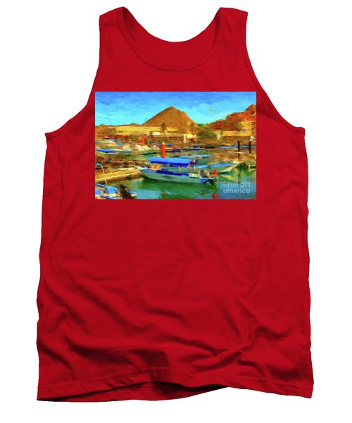 Pangas With Land's End Tank Top by Gerhardt Isringhaus
