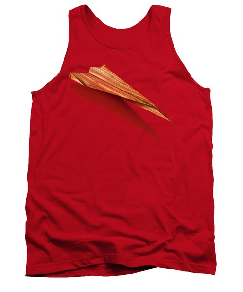 Paper Airplanes Of Wood 4 Tank Top