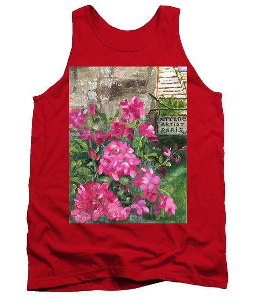 Paris, Wisconsin Tank Top