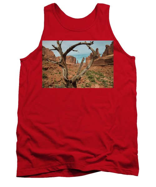 Tank Top featuring the photograph Park Avenue by Gary Lengyel