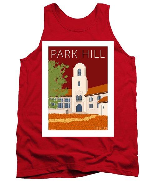 Park Hill Maroon Tank Top