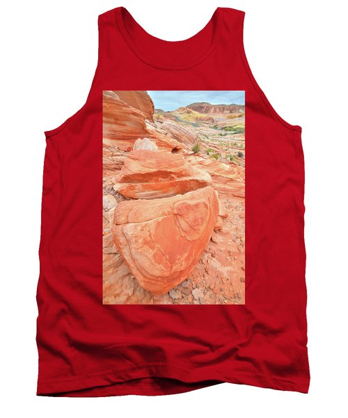 Tank Top featuring the photograph Park Road View In Valley Of Fire by Ray Mathis
