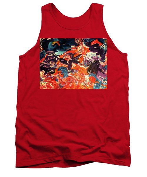 Party In A Parallel Reality Tank Top