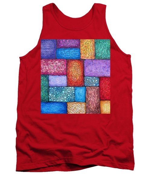 Patchwork Tank Top by Megan Walsh