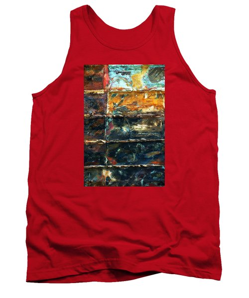 Tank Top featuring the photograph Patchworks 3 by Newel Hunter