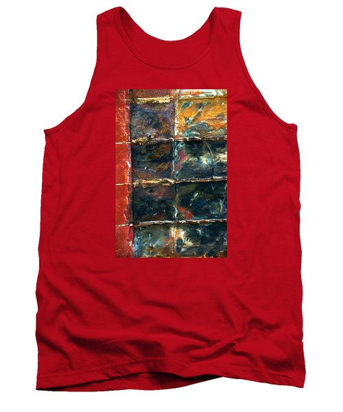 Tank Top featuring the photograph Patchworks 4 by Newel Hunter