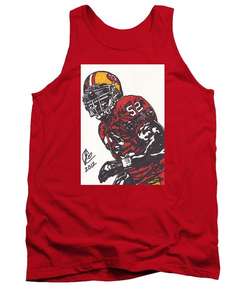 Patrick Willis Tank Top by Jeremiah Colley