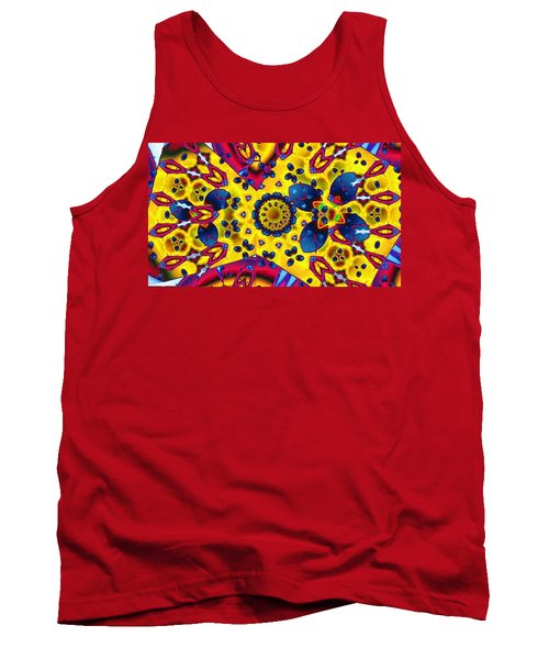 Pattern 2 Intersect Tank Top by Ron Bissett