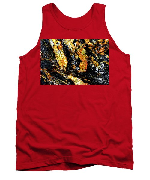 Tank Top featuring the photograph Patterns In Stone - 185 by Paul W Faust - Impressions of Light