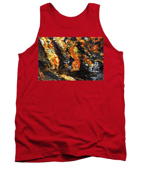 Tank Top featuring the photograph Patterns In Stone - 186 by Paul W Faust - Impressions of Light