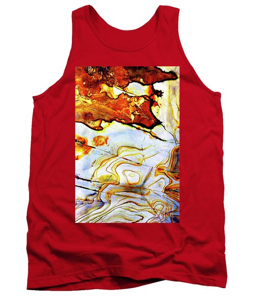 Tank Top featuring the photograph Patterns In Stone - 201 by Paul W Faust - Impressions of Light