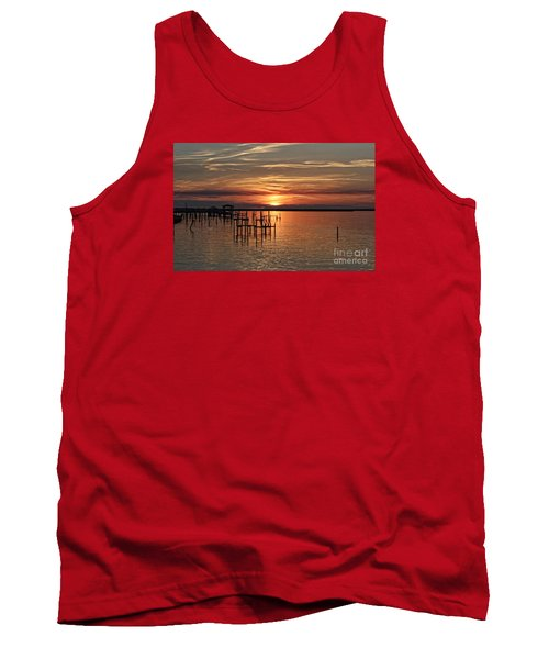 Peace Be With You Sunset Tank Top