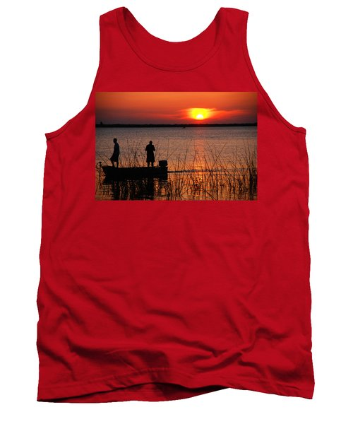 Peace Over The Water Tank Top