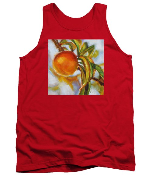 Peach Tank Top by Tracy Male