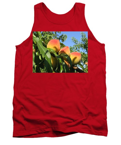 Peaches Tank Top by Barbara Yearty