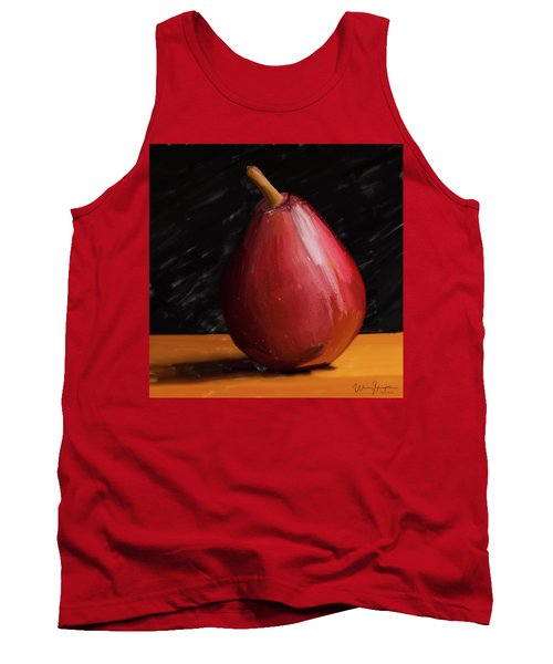 Pear 01 Tank Top by Wally Hampton
