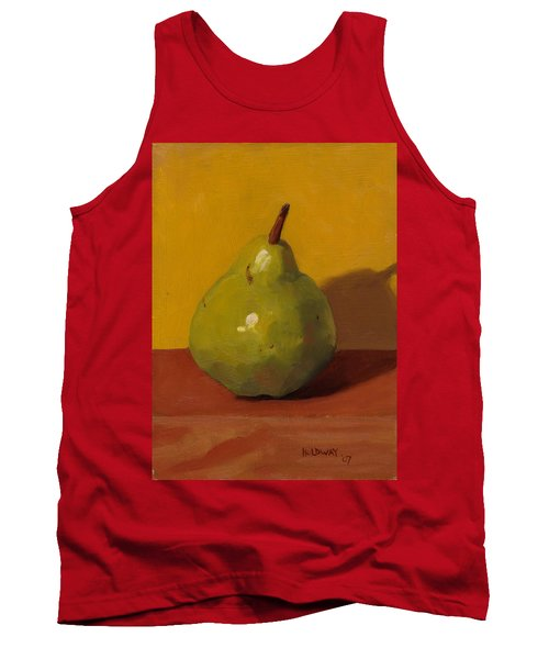 Pear With Yellow Tank Top