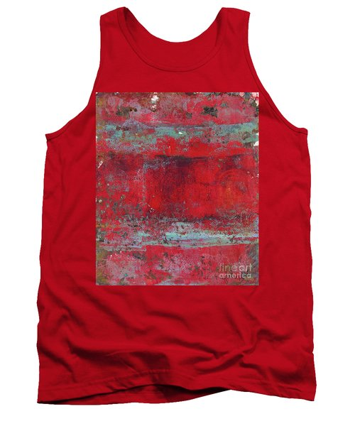 Peeling Wall Tank Top