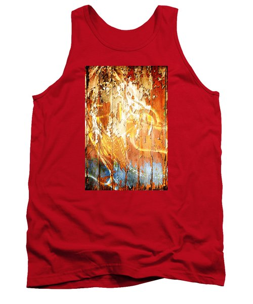 Peeling Wall Portrait Tank Top