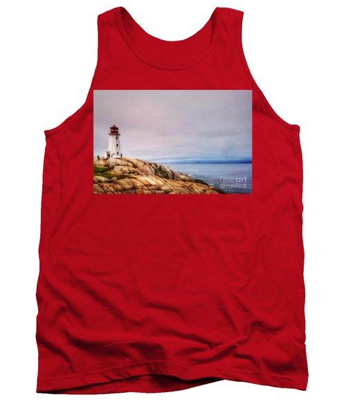 Peggys Point Lighthouse Tank Top