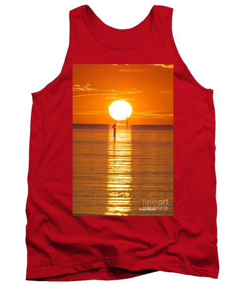 Pelican Sunset Tank Top