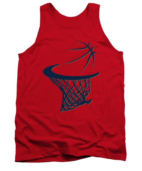Pelicans Basketball Hoop Tank Top by Joe Hamilton