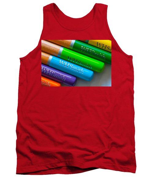 Pencils 5 Tank Top