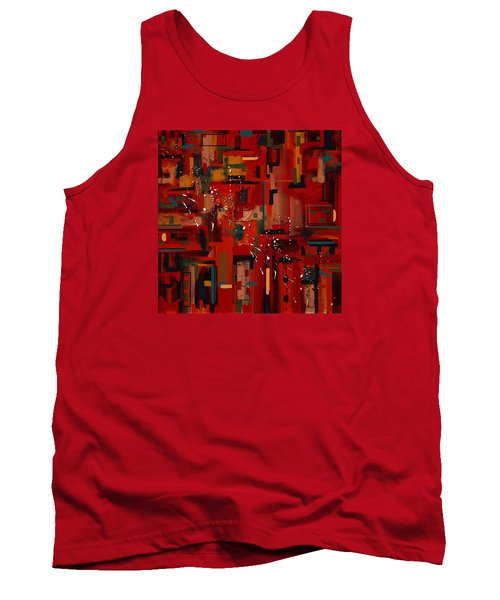 Tank Top featuring the painting Penman Original-233 by Andrew Penman
